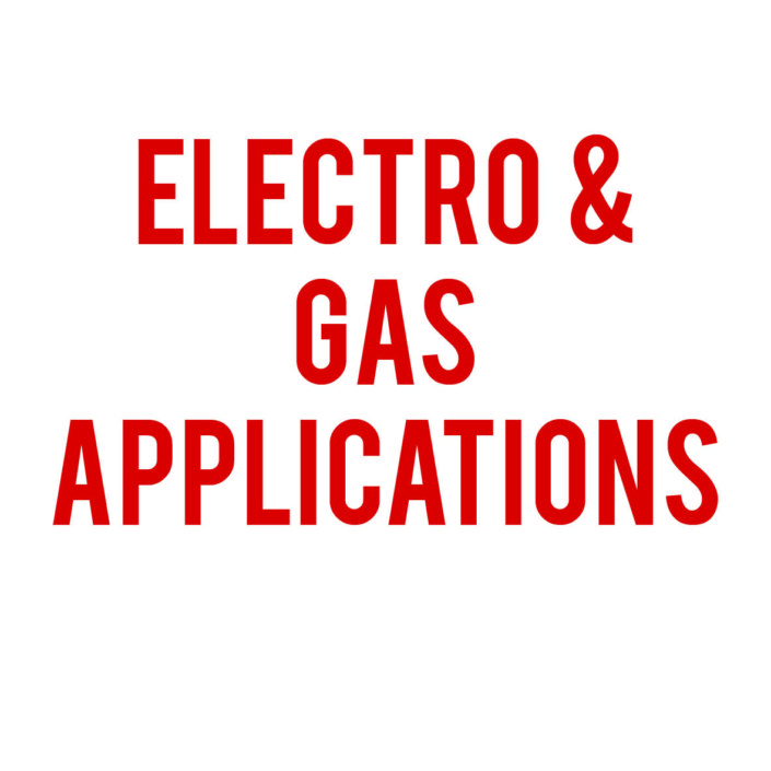 Electro & Gas Applications
