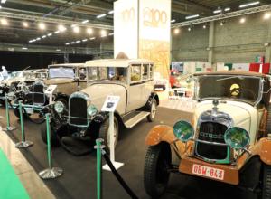 Showstand 100 jaar Citroën