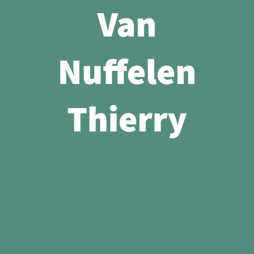Van Nuffelen Thierry