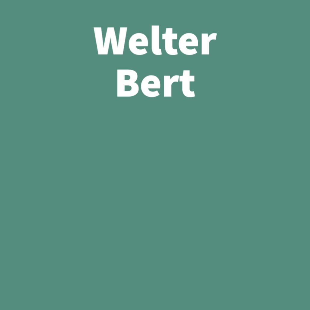 Welter Bert