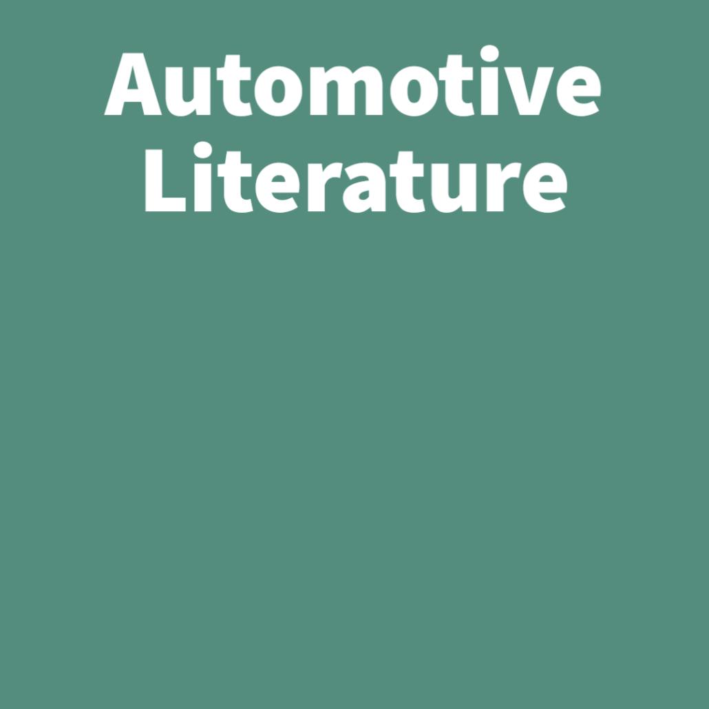 Automotive Literature