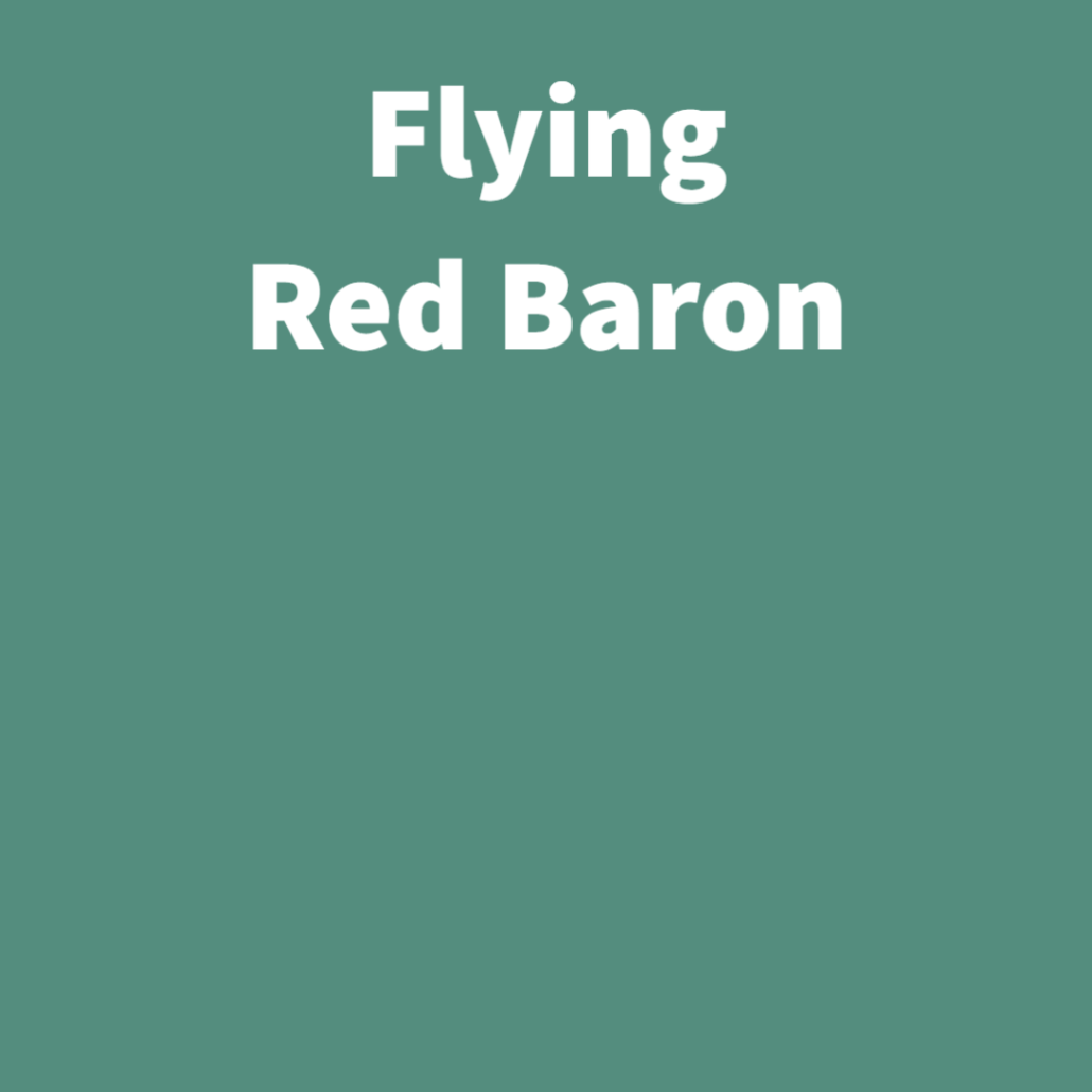 Flying Red Baron