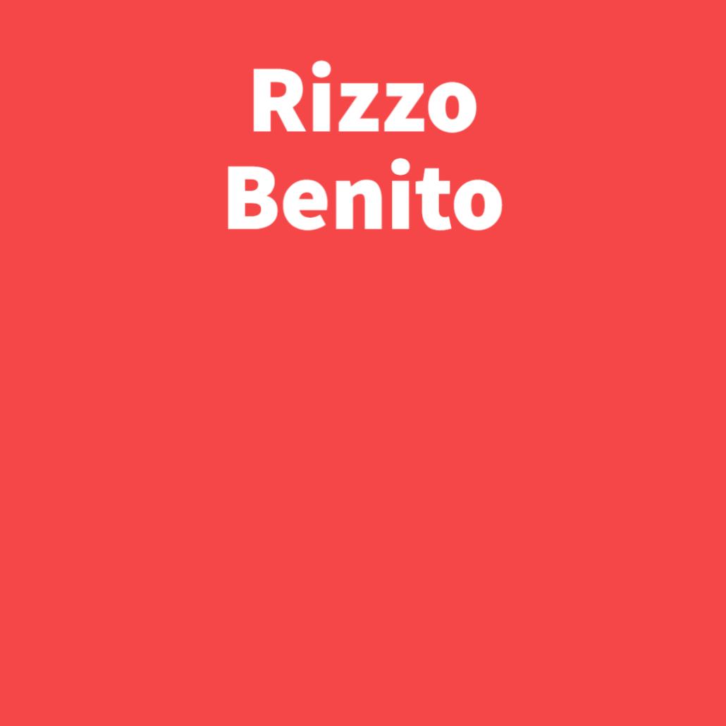 Rizzo Benito