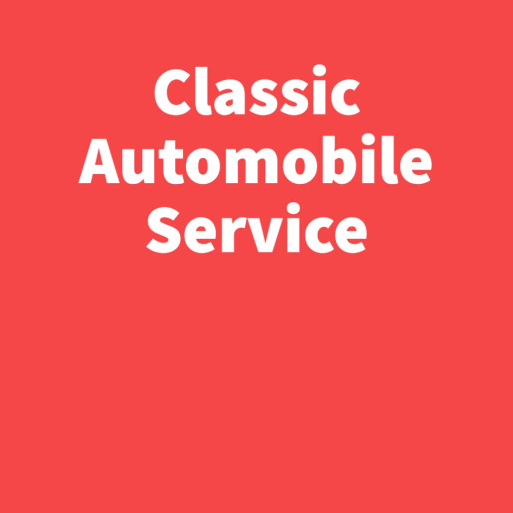 Classic Automobile Service